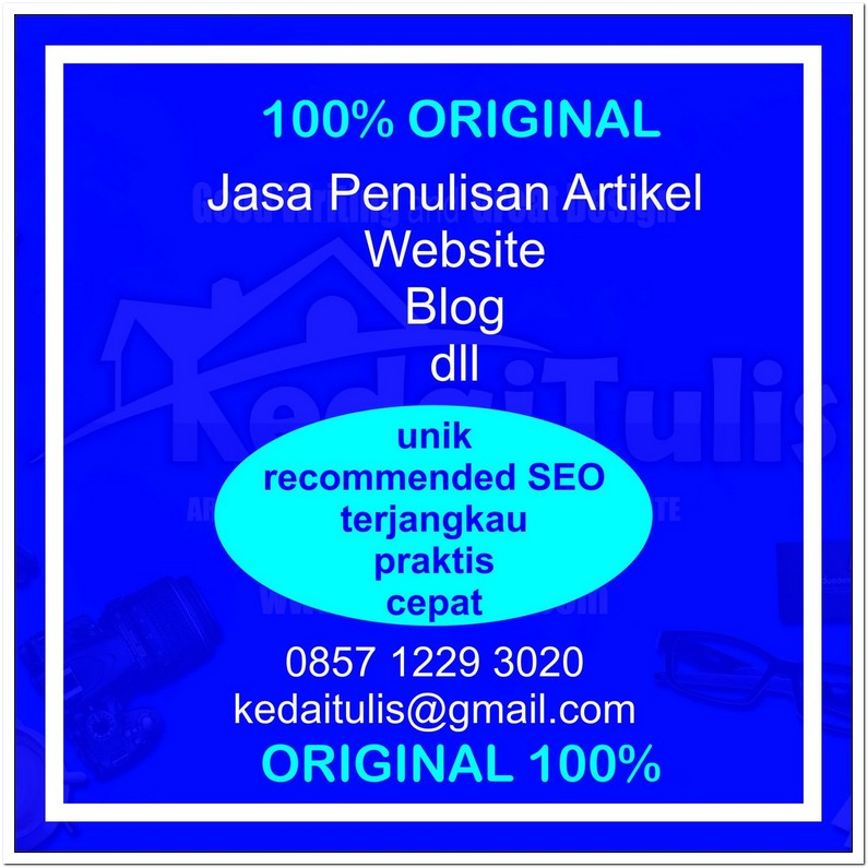 Jasa Update Artikel Blog